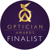 edwards and walker finalisted of the year 2017 opticians